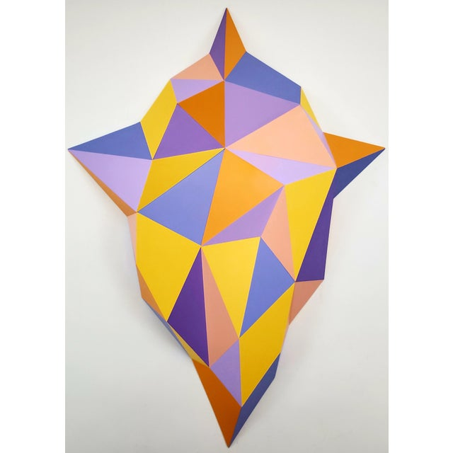 Abstract Sassoon Kosian Vision From Beyond Wall Sculpture For Sale In New York - Image 6 of 7