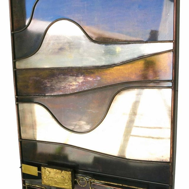 Large Curtis Jere Abstract Mix Metal Wall Art Sculpture - Image 3 of 7