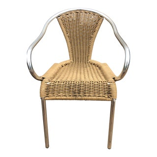 Indecasa Woven Spanish Barcino Armchair For Sale