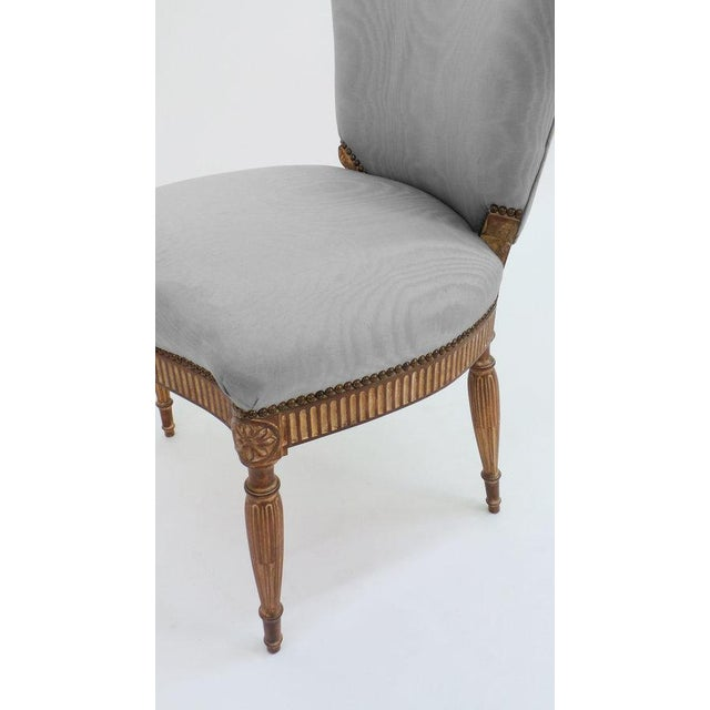 Not Yet Made - Made To Order Adam Style Side Chair For Sale - Image 5 of 6