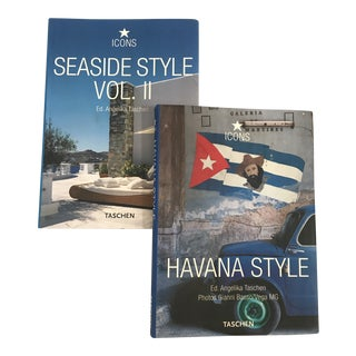 Contemporary Taschen Regional Style Books - a Pair For Sale