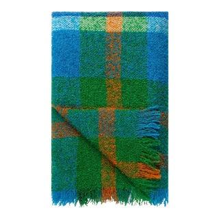 Langton Cobalt Mohair Throw For Sale