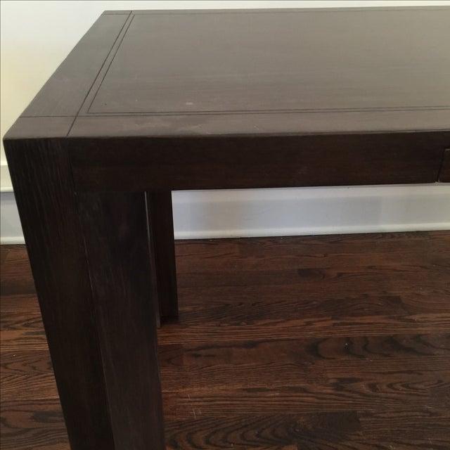 Keller Williams Mid-Century Parson Style Desk - Image 4 of 6