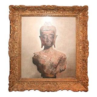 E. Winterberg 20th Century Torso of Buddha Painting For Sale
