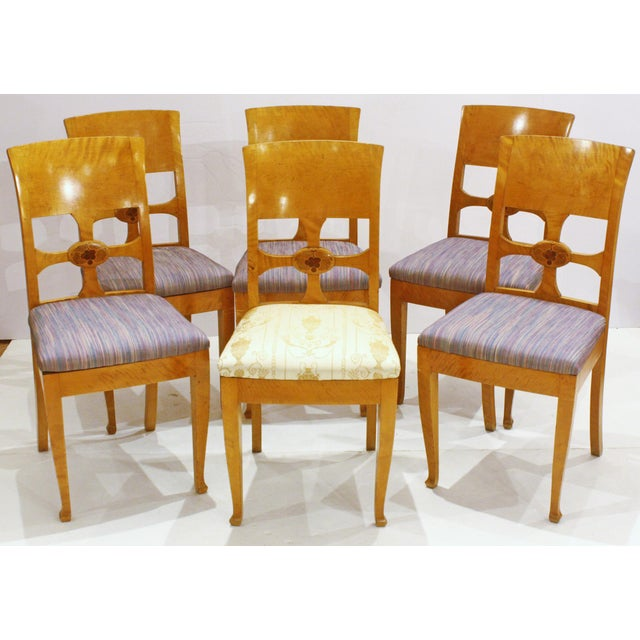 Yellow Set of Six Chairs, by Anton Kjaer, Copenhagen For Sale - Image 8 of 8