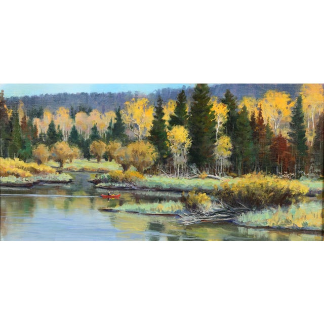 Traditional Oil on Panel Landscape by Jerry Antolik For Sale - Image 3 of 9