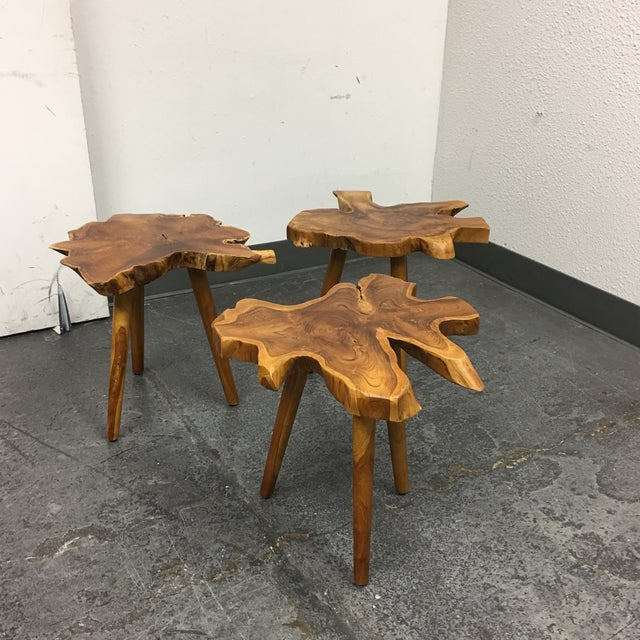 Live Edge Side Table - Image 4 of 9