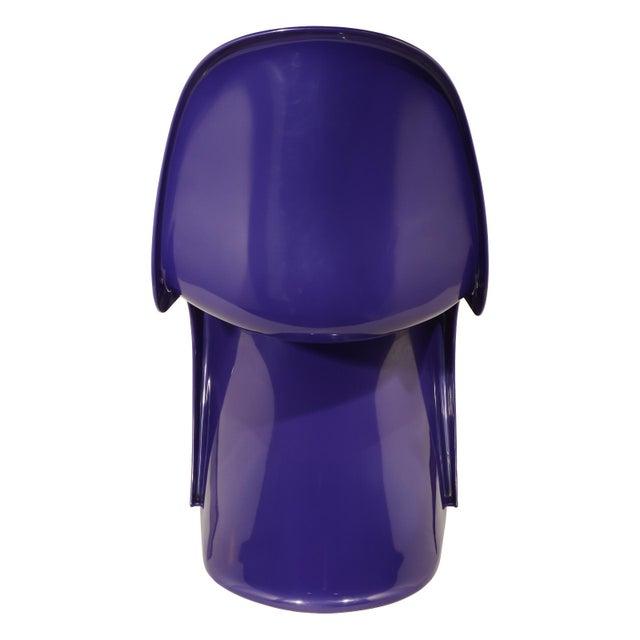 Herman Miller 1976 Verner Panton S-Chair in Purple For Sale - Image 4 of 10