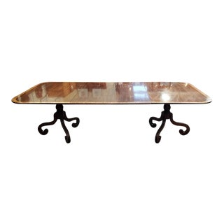 Late 19th Century English Regency Dining Table C.1880s For Sale