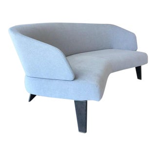 The Creed Curved Loveseat Designed by Minotti, Italy For Sale