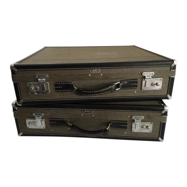 Hartmann Skymate Vintage Hardcase Luggage - 2 Pieces - Image 1 of 11