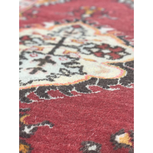 "Vintage Turkish Anatolian Rug - 2'8""x5'4"" - Image 10 of 11"