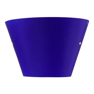 Carlo Nason for Itre Blue Murano Glass Wall Lamp For Sale