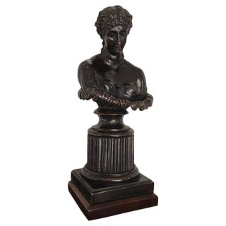 Grand Tour Style Bronze Bust of Clytie For Sale