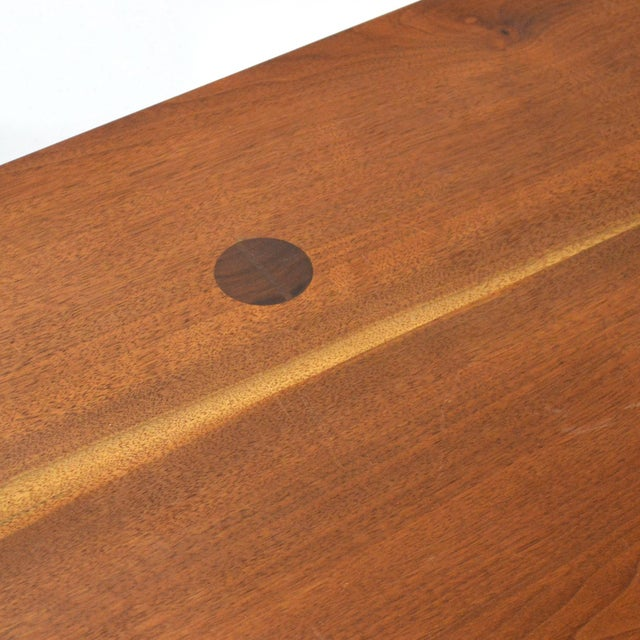 Robert Lovett Walnut Studio Craft Table/ Desk For Sale In Chicago - Image 6 of 11