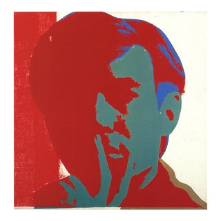 Andy Warhol, Self-Portrait, Offset Lithograph, 1991 For Sale