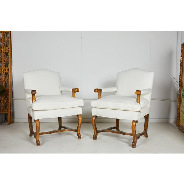 Pair of Italian Armchairs For Sale - Image 13 of 13