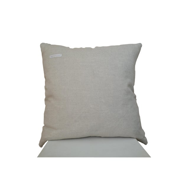 Abstract Black and White Eclipse Cutout Pillow For Sale - Image 3 of 4