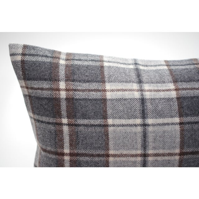 "Traditional Jacques Bouvet Et Cie ""Oregon"" 20"" X 12"" Wool Pillow For Sale - Image 3 of 5"