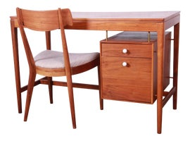 Image of Walnut Secretary Desks