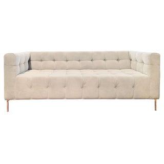 ModShop Custom Made Tufted Sofa For Sale