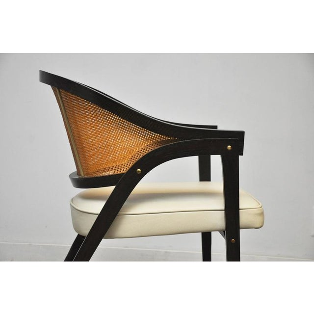 1950s Captain Armchair by Edward Wormley for Dunbar For Sale - Image 5 of 7