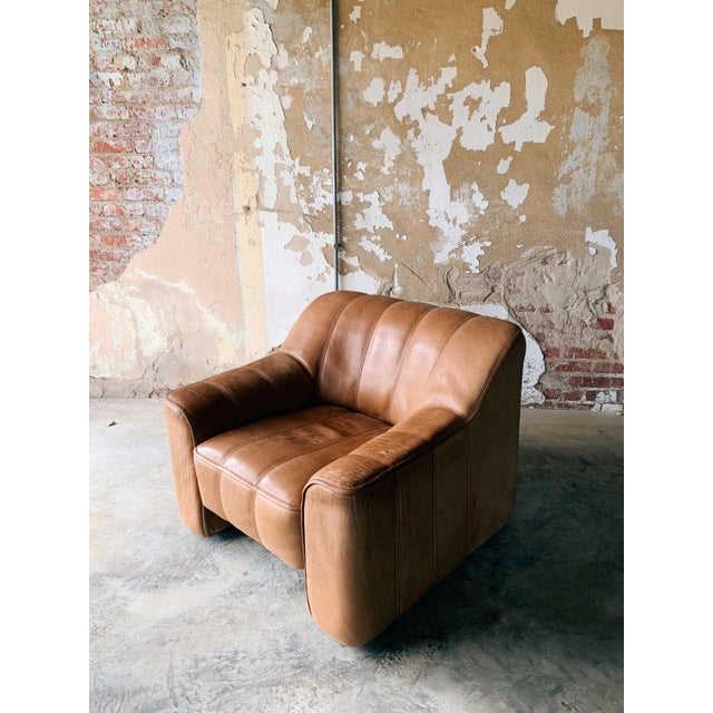 Leather De Sede Ds44 Leather Chair For Sale - Image 7 of 7