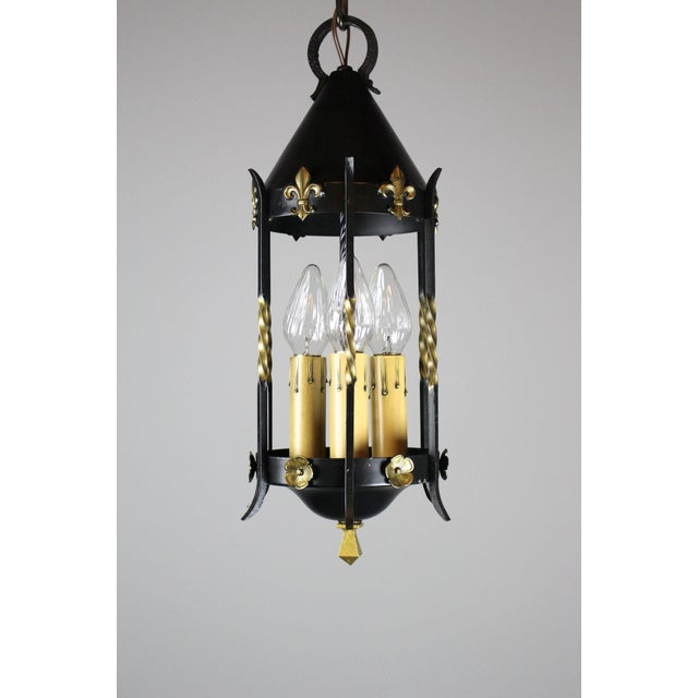 Spanish Colonial Lantern by Moe Bridges Co. For Sale In Washington DC - Image 6 of 7