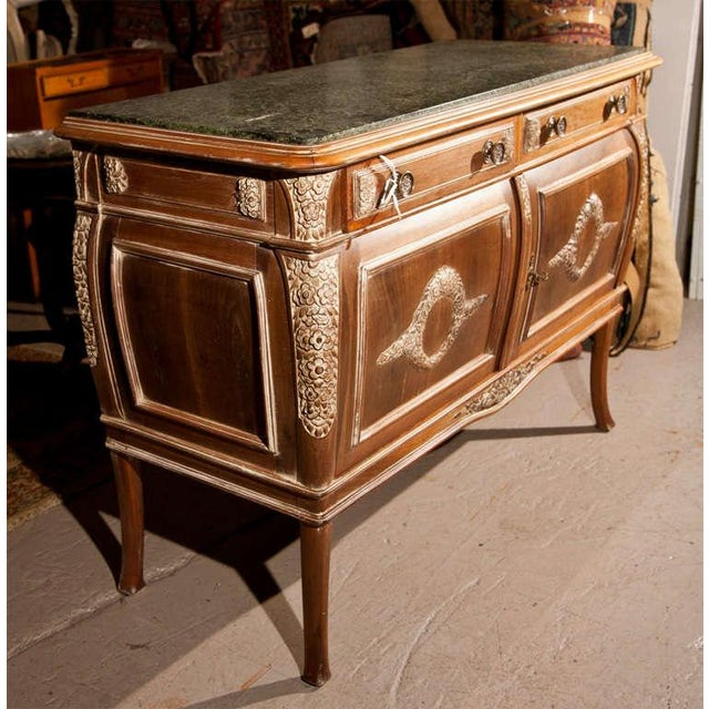 French Empire Style Marble-Top Sideboard For Sale In New York - Image 6 of 9