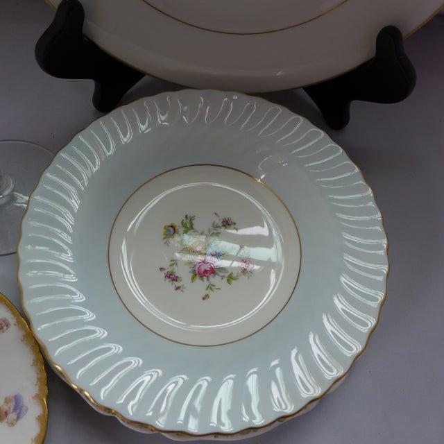 Vintage Mismatched Dinner Setting - Set of 5 For Sale - Image 7 of 9