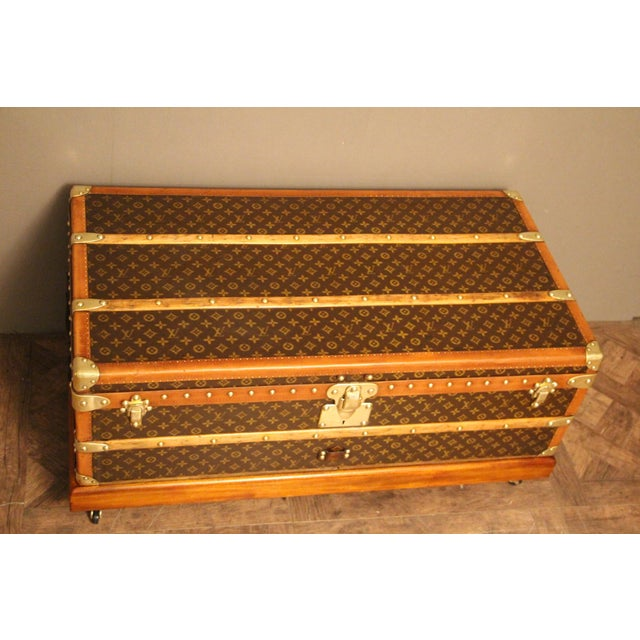 1930s 1930s Louis Vuitton Cabin Steamer Trunk For Sale - Image 5 of 13