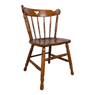 Tell City Solid Maple Dining Chair For Sale