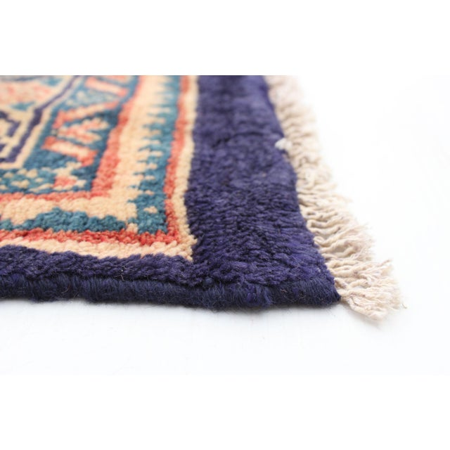 1990s Vintage Turkish Style Rug For Sale - Image 5 of 9
