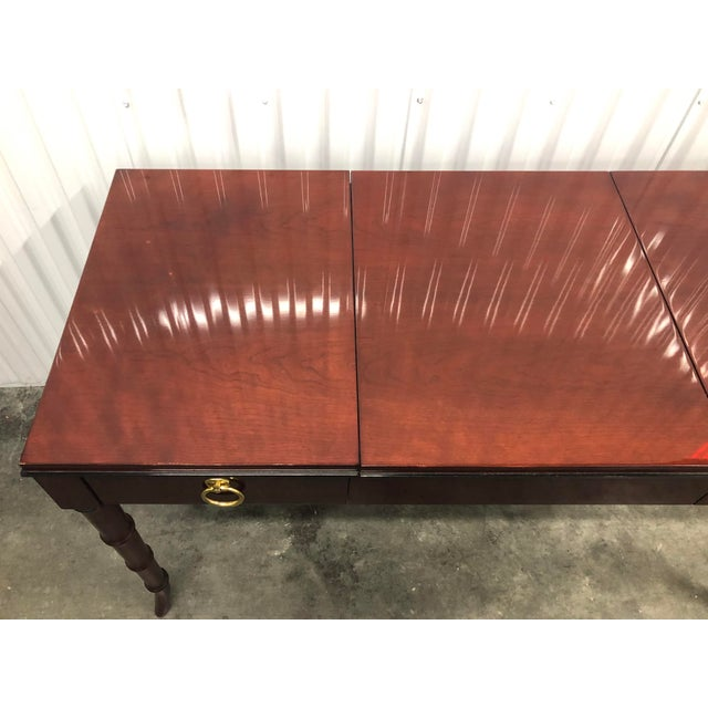 Dorothy Draper Kindel Furniture Chinoiserie Dressing Table For Sale - Image 10 of 13