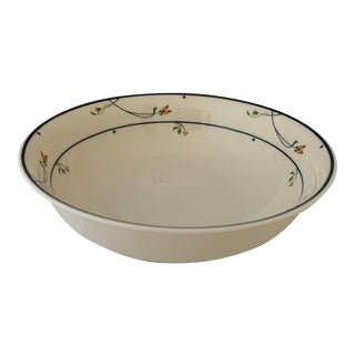 1980s Gorham Ariana Large Round Serving Bowl For Sale
