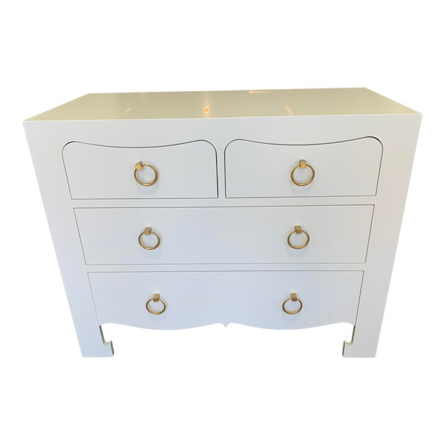 Bungalow 5 Jacqui Large 4-Drawer Chest For Sale