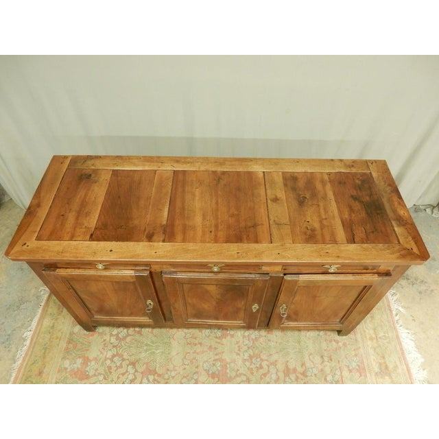 French Early 19th French Walnut Enfilade For Sale - Image 3 of 11