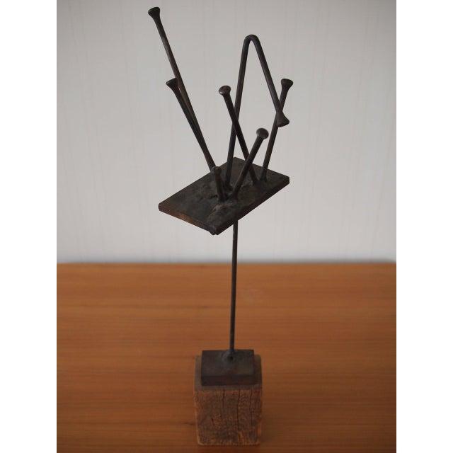 Vintage Original William F. Sellers Sculpture 1960 For Sale - Image 10 of 10
