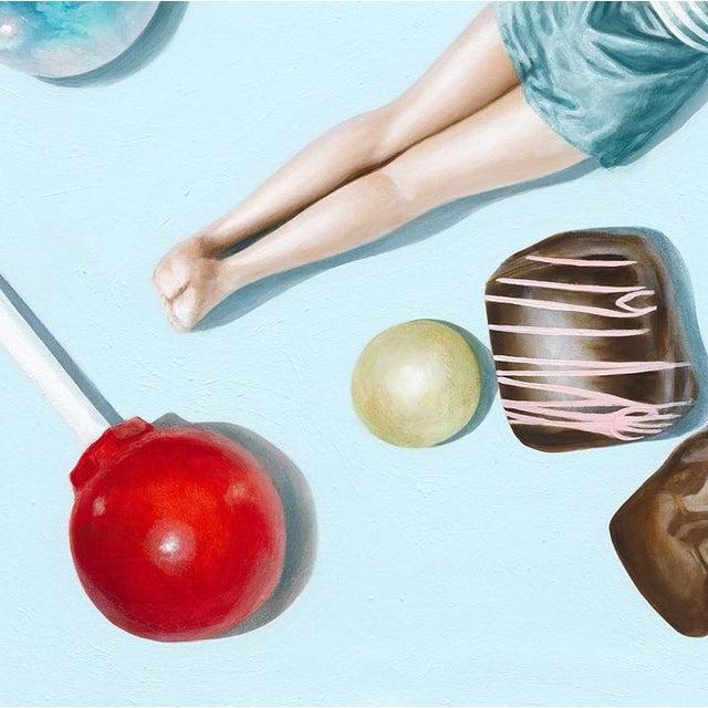 """Figurative """"Refined Elegance"""" Original Artwork by Elise Remender For Sale - Image 3 of 11"""