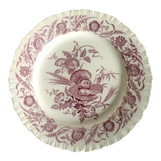"Wedgewood ""Cornflower"" Pattern Dinner Plate For Sale"