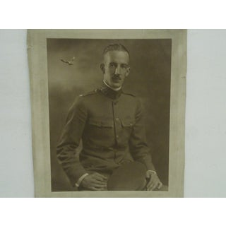 "Black & White ""World War 1 Soldier"" Photograph Preview"