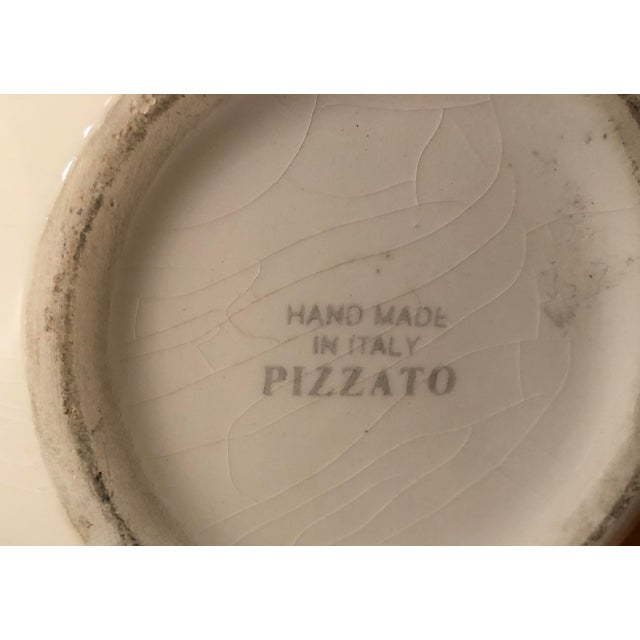 Ceramic Final Week! Vintage Pizzato Pitcher Hand Made in Italy For Sale - Image 7 of 10