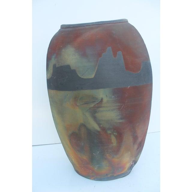 Vintage Studio Pottery Vase For Sale - Image 9 of 9