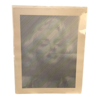 1990s Marilyn by Yvaral (Jean-Pierre Vasarely) Serigraph 13/100 For Sale