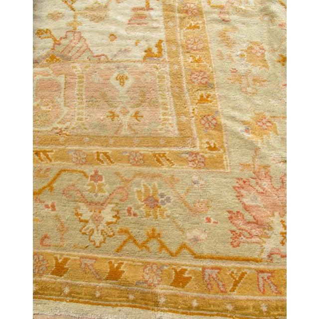 Islamic Oversized Oushak Carpet For Sale - Image 3 of 10