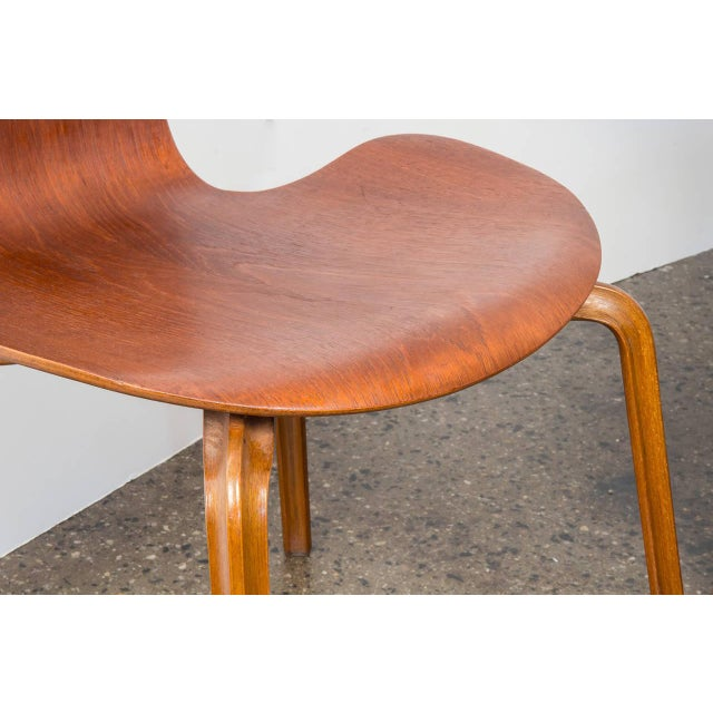 Set of Eight Arne Jacobsen Grand Prix Chairs - Image 6 of 10