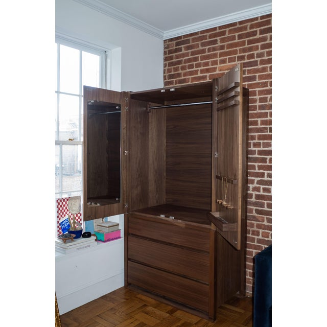 Modern Modern Design Within Reach Matera Armoire For Sale - Image 3 of 5