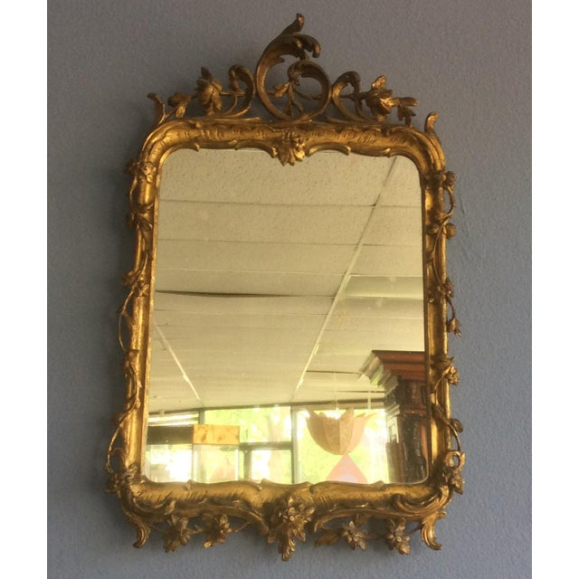 Late 18th Century Rococo Style Giltwood Mirror For Sale - Image 10 of 10