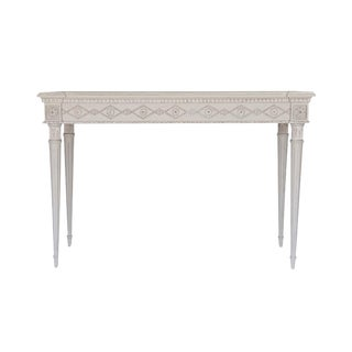 Aria Console in Swedish Grey For Sale