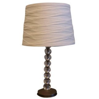 20th Century Orrefors Table Lamp For Sale